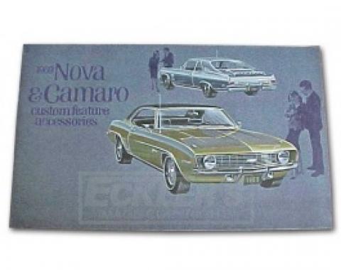 Nova Color Custom Accessory Brochure, 1969