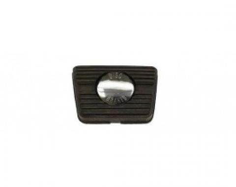 Nova Pedal Pad, Brake, Manual Transmission, With Disc Brakes, 1973-1974