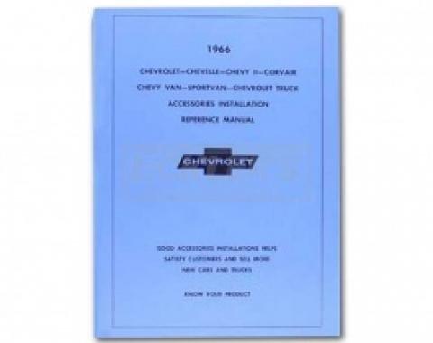 Nova Chevy II Accessories Installation Manual, 1966