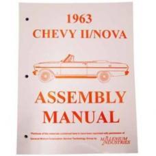 Nova Factory Assembly Manual, 1963