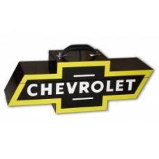 Chevy Bowtie Shaped Portable Tool Box, Black & Yellow
