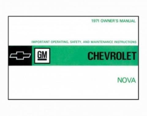 Nova Owner's Manual, 1971
