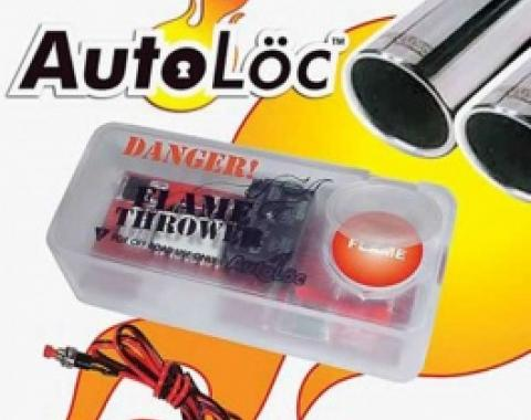 Nova Autoloc Flame Thrower Kit, Dual Exhaust, 1967-2014