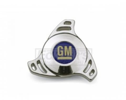 1962-1979 Nova And Chevy II Large Hi-Tech GM Bowtie Air Cleaner Center Nut