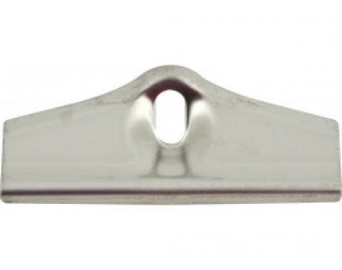 Nova Hold-Down Clamp, Battery Tray, Stainless Steel, 1962-1979