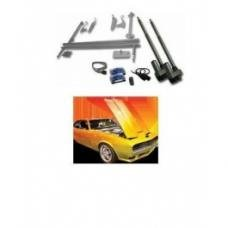 Tilt Hood Kit, Automatic With Remotes, Universal