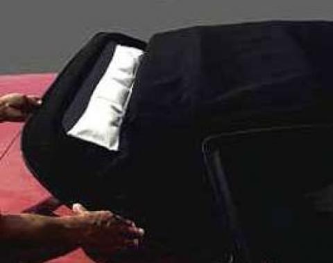 Nova Chevy II Pillow, Convertible Top Window