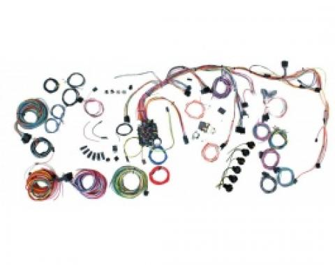 Nova Classic Upgrade Kit, Wiring Harness, 1969-1972