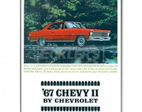 Nova And Chevy II Sales Brochure, 1967