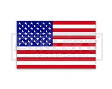Nova, American Flag Decal
