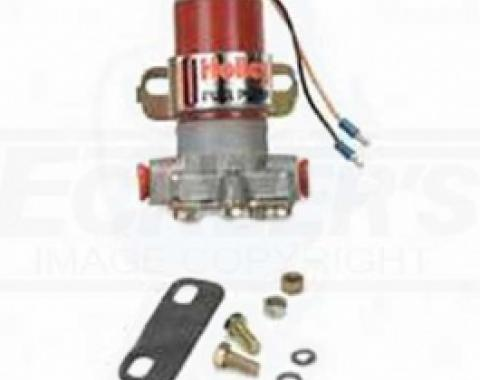 Nova And Chevy II Holley Electric Fuel Pump, Red, 1962-1979