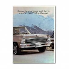 Nova And Chevy II Sales Brochure, 1966