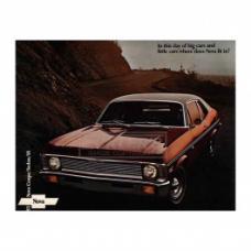 Nova Sales Brochure, 1971