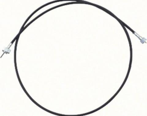 Nova Speedometer Cable, Thread-On, 73 Inch, Without Grommet, 1962-1969