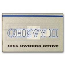 Nova Chevy II Owner's Manual, 1965