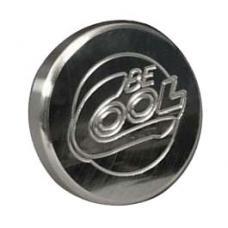 Nova Radiator Cap,Be Cool,Billet,Round,Polished Finish