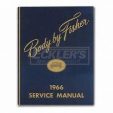 Nova And Chevy II Body By Fisher Service Manual, 1966