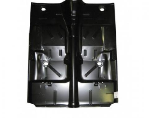 Nova Floor Pan, Full, W/ Automatic, 1962-1967