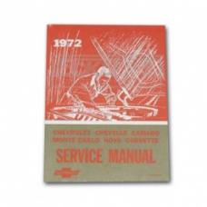 Nova Chassis Service Shop Manual, 1972