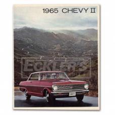 Nova And Chevy II Sales Brochure, 1965
