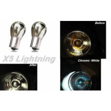 Light Bulbs, 1157, Chrome X5 Lightning White Silver Stealth