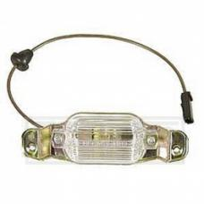 Nova And Chevy II License Lamp Assembly, 1966-1972
