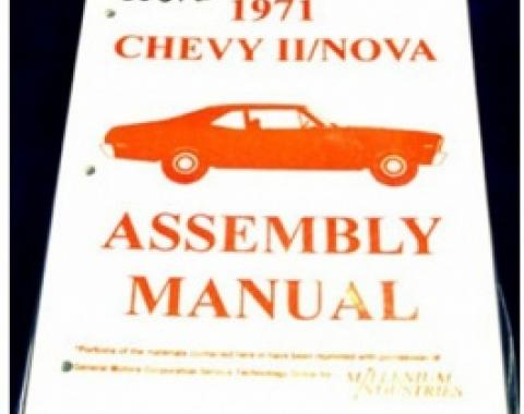 Nova Factory Assembly Manual, 1971