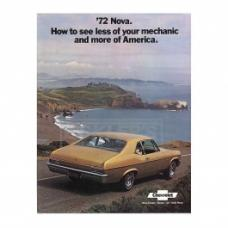 Nova Sales Brochure, 1972