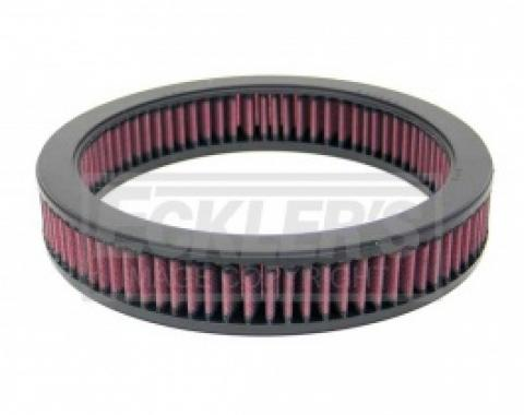 Nova And Chevy II, K&N Replacement Air Filter, Inline 6 And V8, 1966-1979