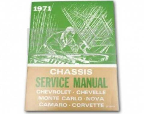 Nova Chassis Service Shop Manual, 1971