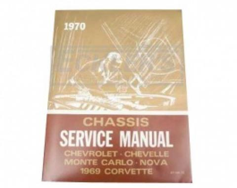 Nova Chassis Service Shop Manual, 1970