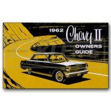 Nova Chevy II Owner's Manual, 1962