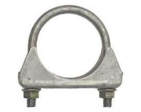 Nova Exhaust Muffler Clamp, Cradle Style, Steel, 2, 1962-1979