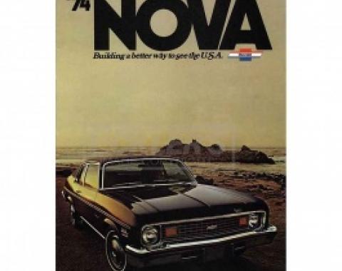 Nova Sales Brochure, 1974