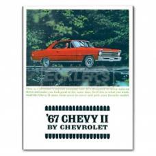 Nova And Chevy II Sales Brochure, 1967
