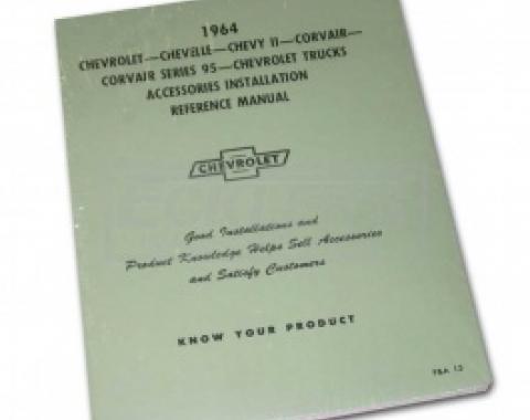 Nova Chevy II Accessories Installation Manual, 1964