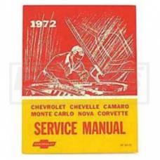 Nova Fisher Body Service Manual, 1972