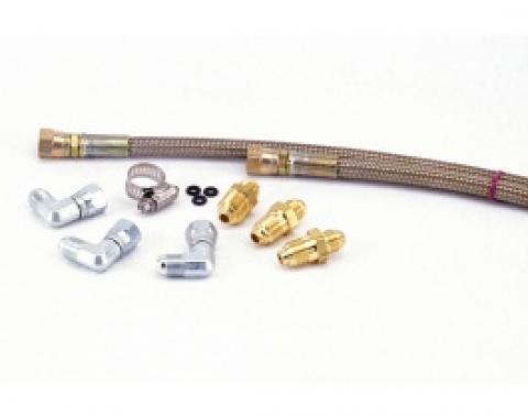 Nova Rack And Pinion Power Steering Hose Kit, For Original Style Pump, 1968-1974
