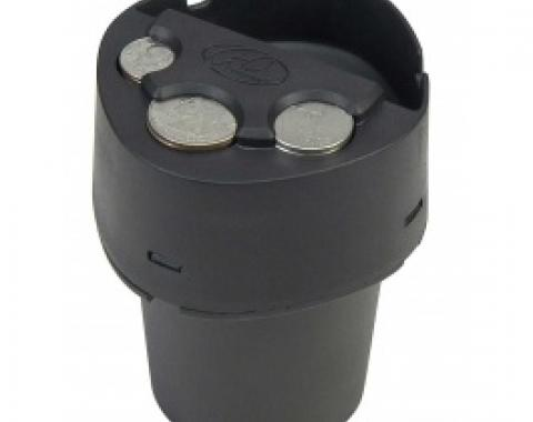 Ash Bin with Built-In Coin Holder