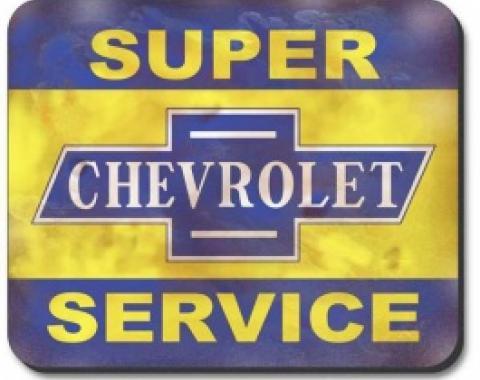 Chevrolet Mouse Pad, Super Service