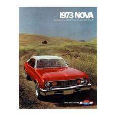 Nova Sales Brochure, 1973