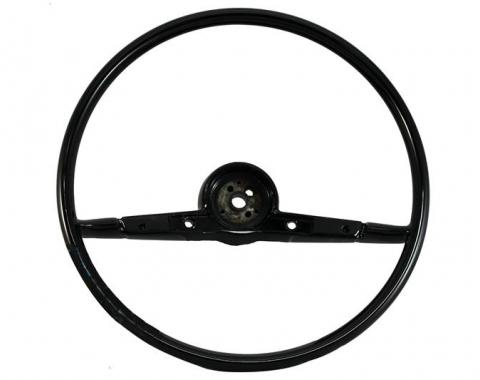 Full Size Chevy Volante OE Series Resto-Mod Steering Wheel, Black, 1957