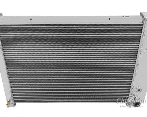 Champion Cooling 3 Row All Aluminum Radiator Made With Aircraft Grade Aluminum CC412