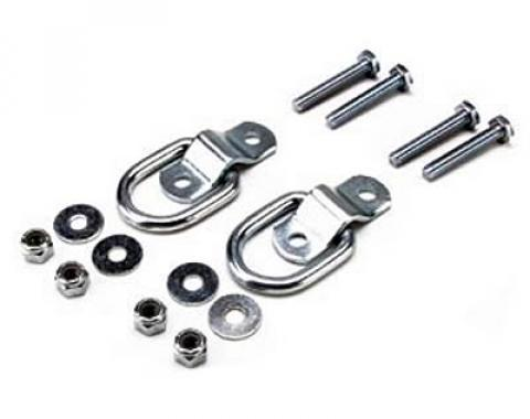 Light-Duty Surface Mount D-Rings Trailering Hardware