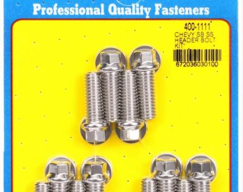 ARP Stainless Steel Header Bolts 400-1111