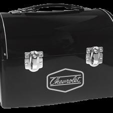 Chevrolet Retro Metal Domed Lunch Box