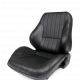 Procar Lowback Rally Seat, Left, Black Leather