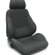 Procar Rally Seat, with Headrest, Right, Canvas