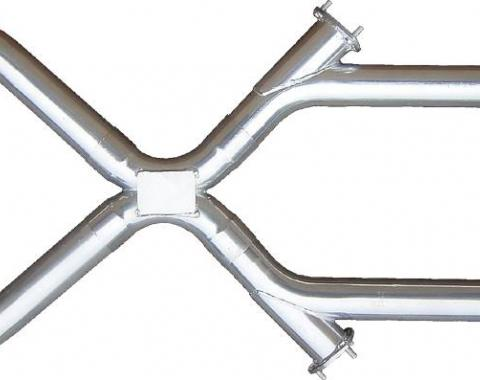 Pypes Xchange X-Pipe Crossover Kit Intermediate Pipe 3 in Hardware Inc Polished 304 Stainless Steel Exhaust XVX13S