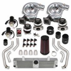 Holley STS Turbo Remote Mounted Twin Turbo System STS2000